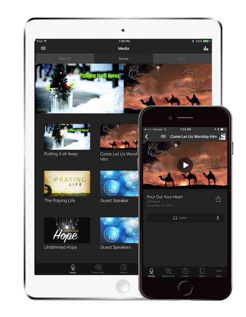 mobile app web